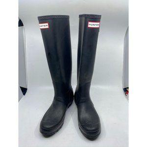 Hunter Women's Black Rain Boots Size 7